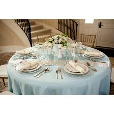 what size tablecloth for 60 round table unique 132 in round polyester tablecloth baby blue 17