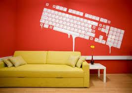 creative office ideas. creative office spaces with red color natural interior design 2010 ideas t