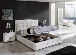 Contemporary White Bedroom Set With Storage | | Thecentrestar ...