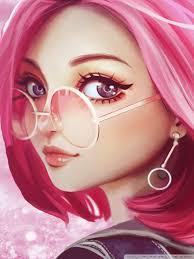 Cute Girl Wallpaper Cartoon Pictures - Gambarku