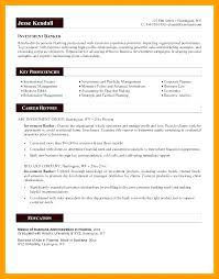 Resume Sample Personal Information Best Of Personal Banker Resume Samples Fdlnews