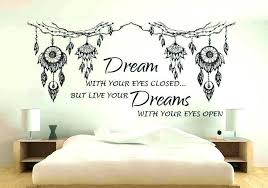 Bedroom Wall Quotes Enchanting Impressive Bedroom Wall Quotes For Teenagers Image Inspirations