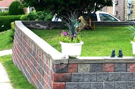 cinder block wall costs retaining wall cost estimate concrete
