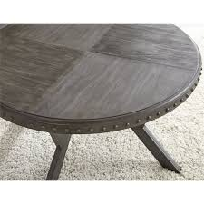 bowery hill round coffee table in