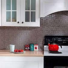 24 in x 18 in terrain pvc decorative tile backsplash in galvanized steel