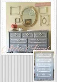 Dresser Painted by Attic Angel in Pure Earth Paint Meterorite and White  Jade, satin PEP