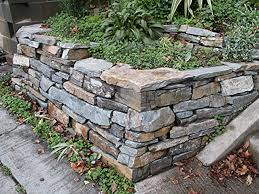 Small Picture landscaping with stone Stone wall corner L Huls Designs L