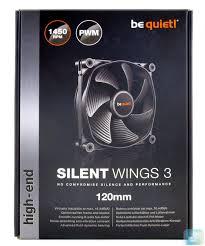 Обзор и тест <b>вентиляторов be quiet</b>! Silent Wings 3 120 мм PWM ...