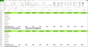 Blank Employee Template Time Log Excel – Freewarearena.info