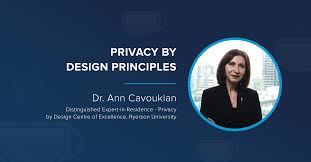 Privacy By Design Centre Of Excellence Live Q A Keynote Video Ann Cavoukian Privacy By Design