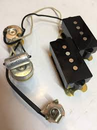 sold fender custom shop p bass pickup w mojotone harness mojotone wiring harness fender custom shop 62 precision bass pickup with a mojotone wiring harness and vitamin t tone cap sells together as a complete drop in replacement