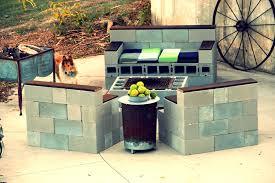 concrete block furniture. delighful block source  concrete blocks patio bench and block furniture