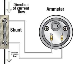 troubleshooting boat gauges and meters boatus magazine  shunt ammeter meter connection illustration