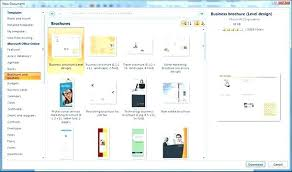Microsoft Templates For Publisher Catalogue Template Word Brochure How To Make A In Ms