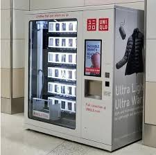 Best Place To Buy Vending Machines Gorgeous Forget Candy Bars Here's Uniqlo's Vending Machines California