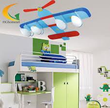 kids room ceiling lighting. Children\u0027s Ceiling Lights Bedroom Kids Room Lamp Of Glass\u0026wood Creative Rural Cartoon Lighting Blue R