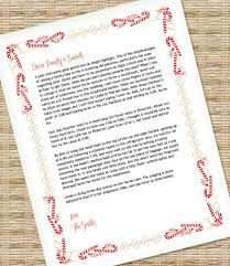 Holiday Templates For Word Free Christmas Letter Template For Ms Word Download Print