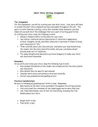 surprising reversal essay informative  short story writing assignment