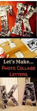DIY Photo Letters Ideas - We Tried It