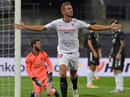 Luuk de Jong schießt Manchester United aus Europa League - Eurosport