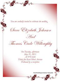 wedding invite template download free wedding invitation template download page word excel pdf