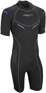 Phantom Aquatics Wetsuit Size Chart Phantom Aquatics Mens Marine Shorty Wetsuit Black Blue Xx Large