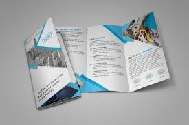 Mini Brochure Design Free Tri Fold Brochure Template Download On Behance