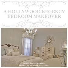 Small Picture A Hollywood Regency Bedroom Makeover Stencil Stories