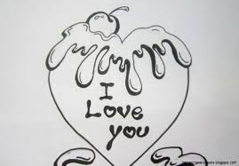 Cute Drawing Easy Sketch And Easy Drawings Of Love Drawing Love