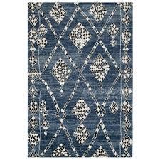 safavieh mor553b moroccan blue and black area rug