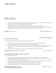 jaime carlsons bi resume - Statistician Resume