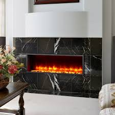 44 built in led wall mount electric fireplace