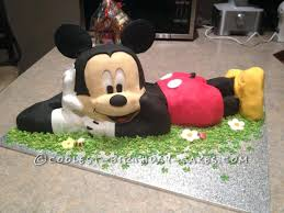 Sheet Cake Ideas For Graduation Coolest Mickey Mouse A Birthday By T
