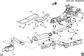 similiar 95 chevy blazer muffler location keywords 2002 bravada envoy trailblazer muffler diy replacement engine