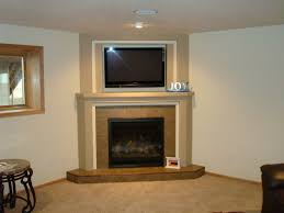 image of custom corner fireplace mantels