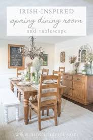 gather st patricks day inspiration with this irish inspired dining room and tablescape decor