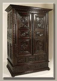 french antique hand carved armoire. Antique Brittany Armoire French Hand Carved N