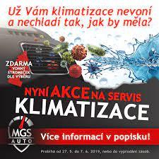 MGS Auto - !!! Akce na servis KLIMATIZACE !!! Probíhá od 27....