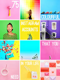 75 colourful insram accounts that you need in your life
