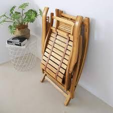 XIAOMEI Folding <b>Rocking Chair</b>,natural <b>Bamboo</b> Lounger With Foot ...