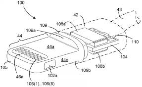 wiring diagram for lightning connector the wiring diagram apple s lightning connector detailed in newly published patent wiring diagram