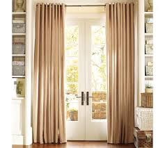 French Door Window Treatment Model