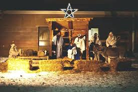 church living nativity with children and animals plastic outdoor scene scenes for guide set materials outdoor lighted nativity sets
