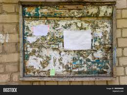 Notice Board Design Templates Wooden Notice Board On Image Photo Free Trial Bigstock