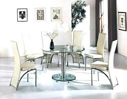 small round glass dining table round glass table diameter medium size of small round glass dining