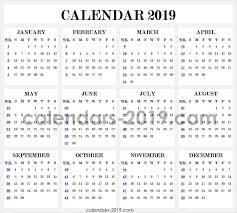 Week Number Calendar 2019 Calendar With Week Numbers Monthly Calendar 2019