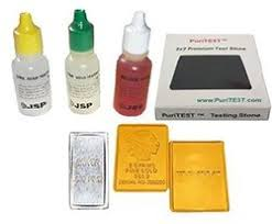 Silver Acid Test Color Chart 5 Proven Bullion Methods To Test Gold Silver At Home
