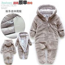 baby winter clothes new 2016 autumn winter romper baby clothes kids cotton warm rompers baby wear