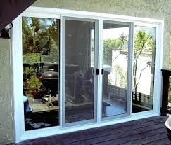 double sliding patio doors. Plain Patio 96 Sliding Patio Door Double Doors  With Built In Blinds 3 Inch Vinyl For L