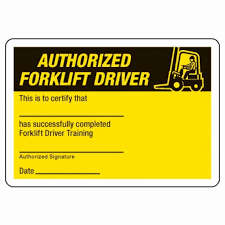 30 Forklift Operator Certificate Template Pryncepality